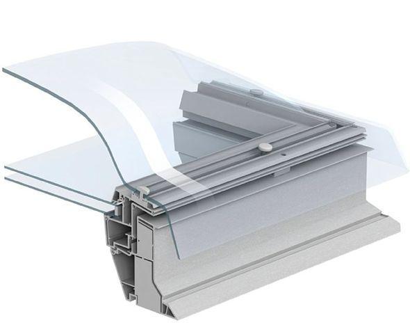 VELUX CFP 0073 90 x 90 Polykarbonát kopule střešní světlík