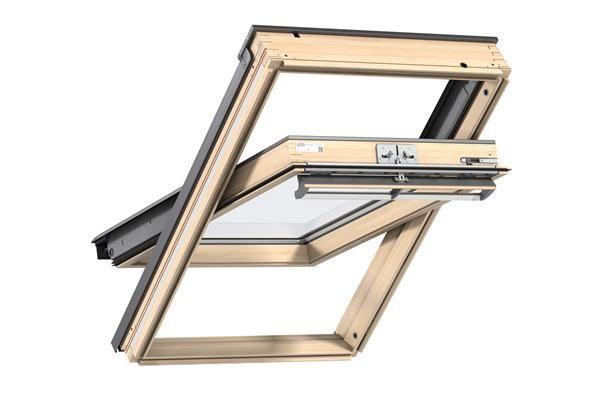 VELUX GLL 1055 CK02 55 x 78 dřevěné střešní okno Horní ovládání