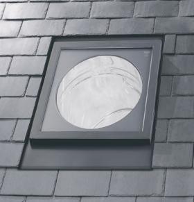 VELUX světlovod TLR 010 do šikmé střechy, průměr 25 cm - pevný t