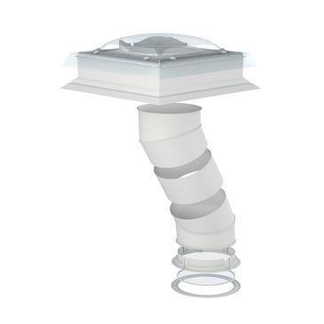 VELUX světlovod TCR 014 do ploché střechy, průměr 35 cm - pevný